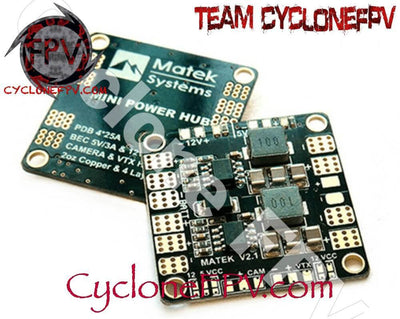 Matek Mini PDB With BEC 5V And 12V - Cyclone FPV