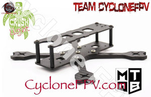 "MQTB Crush Light 3"" LP Frame - Cyclone FPV"