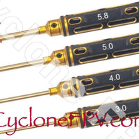 Phillips Screwdriver Set 3.0mm / 4.0mm / 5.0mm / 5.8mm Many Styles - Cyclone FPV
