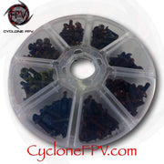 Plastic Screw Container with Eight Sections - Cyclone FPV