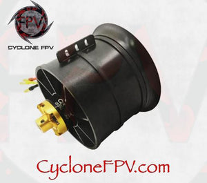 QX MOTOR QX3748 90mm 12 Blade 6S Ducted Fan EDF 1550KV - Cyclone FPV