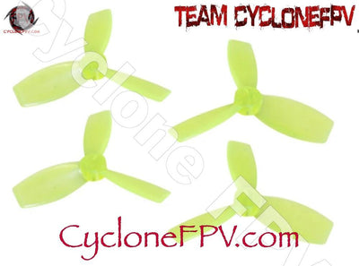 Rakonheli 2222 3 Blade Transparent Propeller 3 Colors - Cyclone FPV