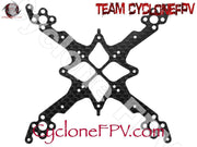 Rakonheli CNC 3K Pure Carbon Fiber Main Frame (1.5mm) (for 80DQX980) - Cyclone FPV