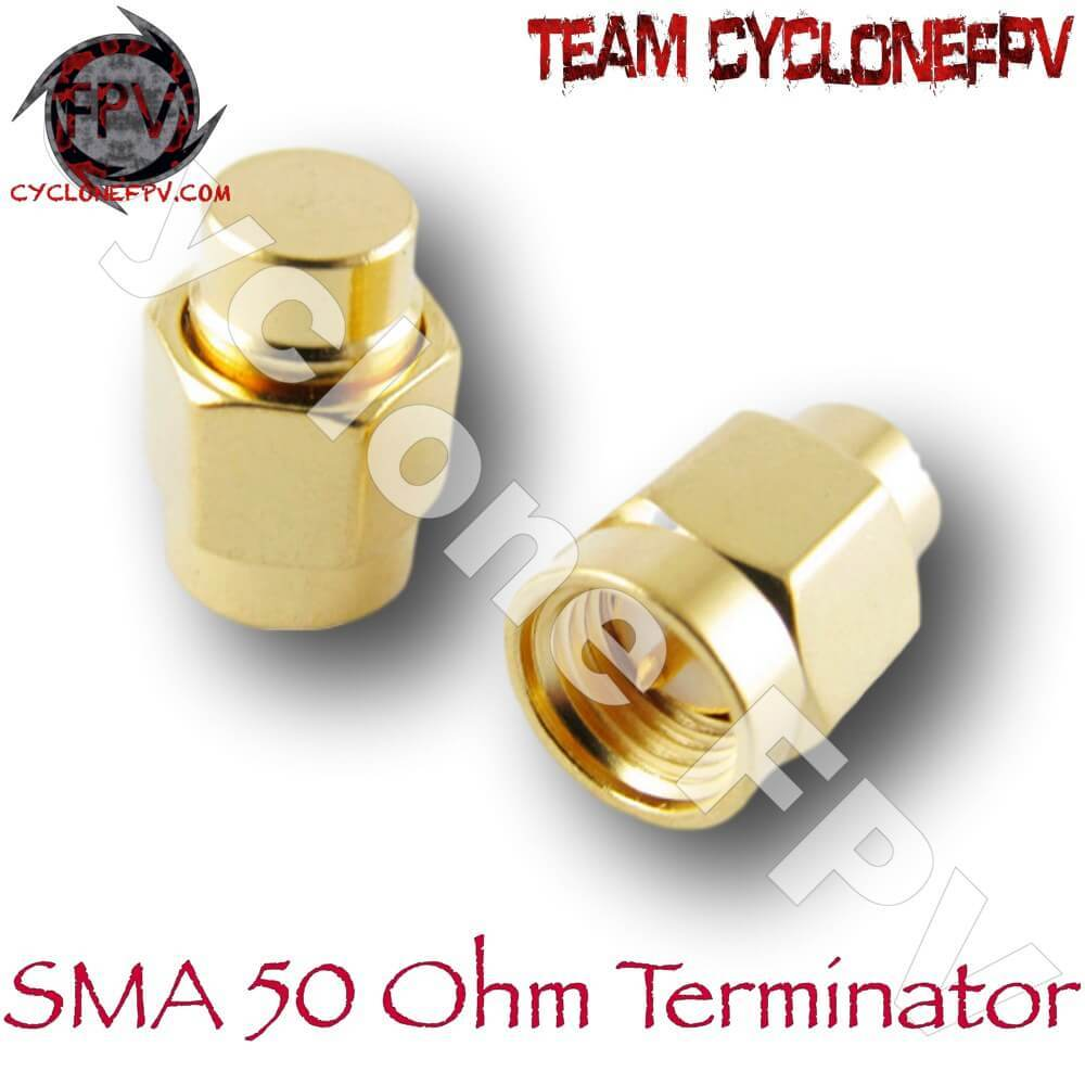 SMA Male 50 Ohm Terminator for VTX - Cyclone FPV
