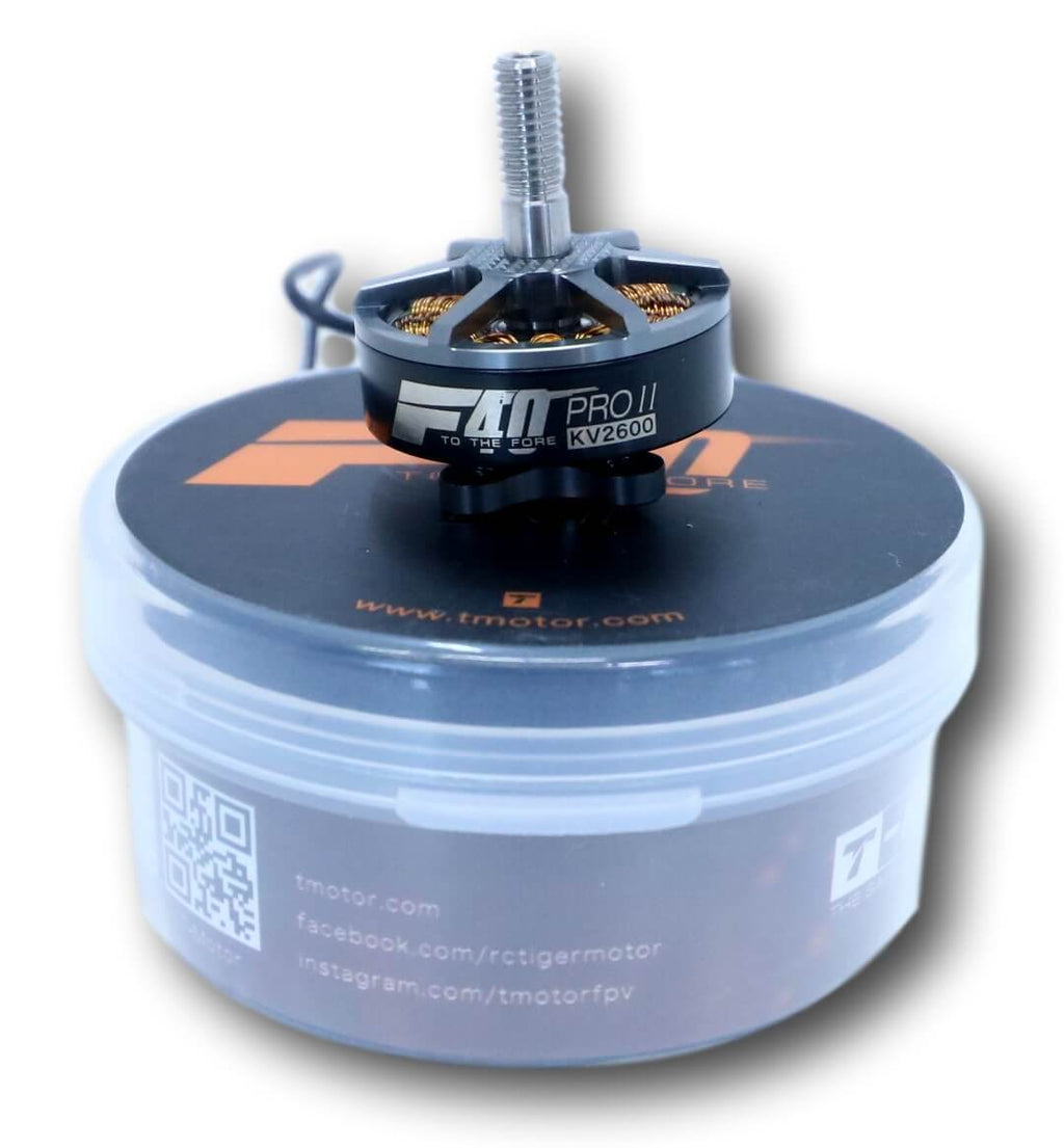 T-Motor F40ProII 2600KV Silver/Black Motor from Cyclone FPV - Cyclone FPV