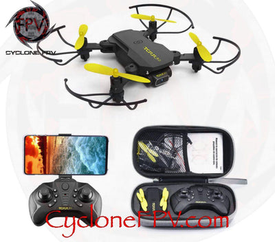 TCMM Hummingbird RTF 4K WiFi Drone with Folding Arms - Cyclone FPV