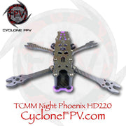 TCMM Night Phoenix HD-220 5inch Drone Frame - Cyclone FPV