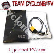 TS100 Digital OLED Programable Interface Mini Soldering Iron - Cyclone FPV