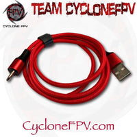 USB A to USB C Data Charging Cable 1 Meter - Cyclone FPV
