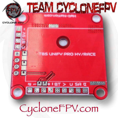WhiteNoise FPV TBS Unify Pro Mounting Board - RACE/HV Version - RED - Cyclone FPV