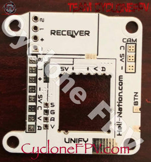 WhiteNoise FPV TBS Unify Pro Mounting Board - V2.2 Version - WHITE - Cyclone FPV