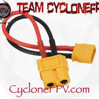 XT30 to XT60 Adapters - Cyclone FPV