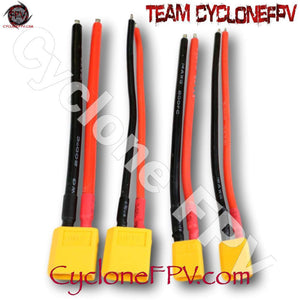 XT30 XT60 Cable and Connector for Drones - Cyclone FPV