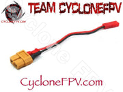 XT60 Female to JST Male Adapter - 2 Sets - Cyclone FPV