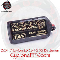 ZOHD LIONPACK Lithium-Ion Battery 2S 3S 4S 5S for Drone Fixed Wing - Cyclone FPV