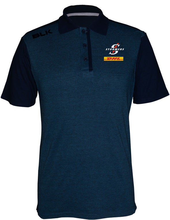 BLK Stormers Lifestyle Polo – Navy