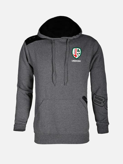 BLK London Irish Hoodie - Charcoal