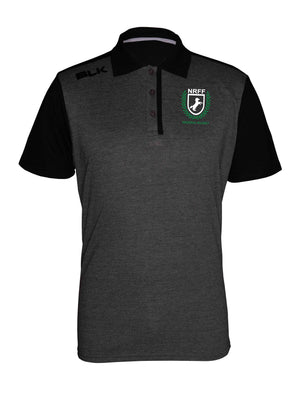 Nigeria Rugby Lifestyle Polo - Black