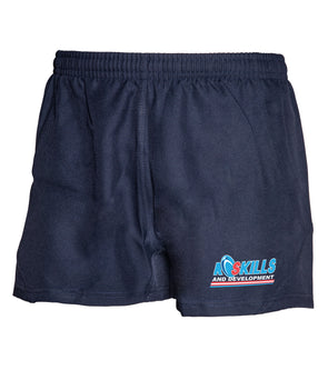 BLK RSD Tek Short - Navy - Junior