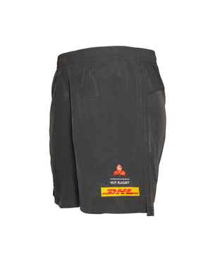 BLK Western Province Elite Gym Short - Charcoal