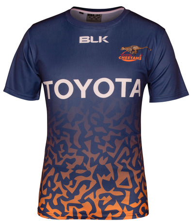 Toyota Cheetahs Training T-shirt - Navy/Print