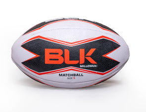 BLK Rugby Match Ball - (Red)