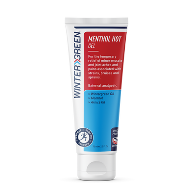 Wintergreen Menthol Hot Gel - 75ml