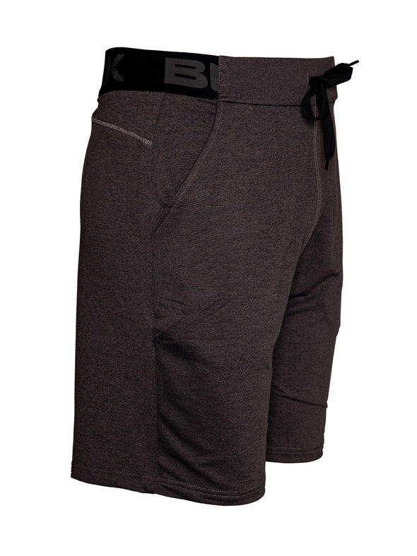 BLK Lifestyle Training Short - Charcoal