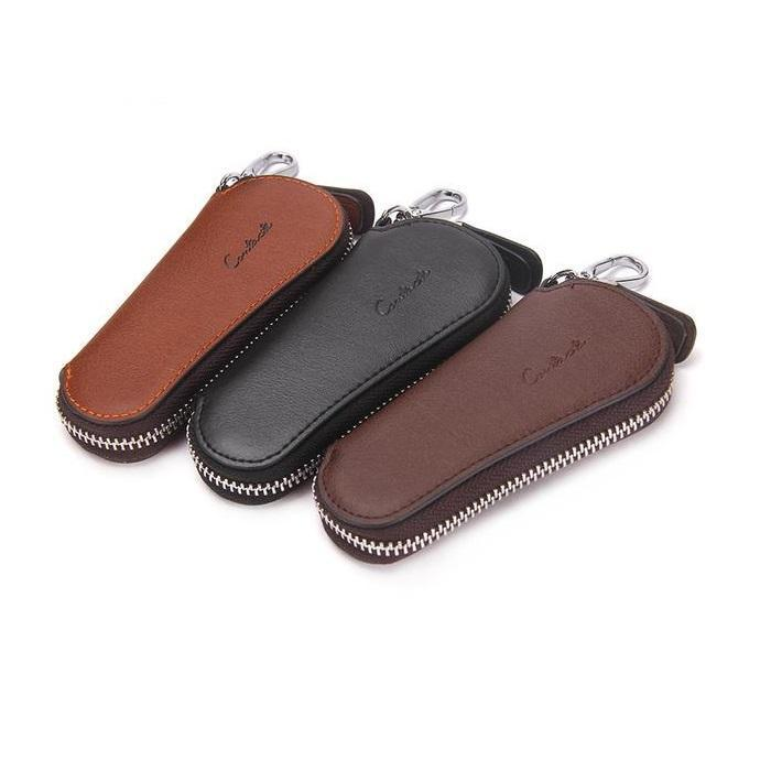Genuine Leather Key Case Pouch Wallet-RnB.Style