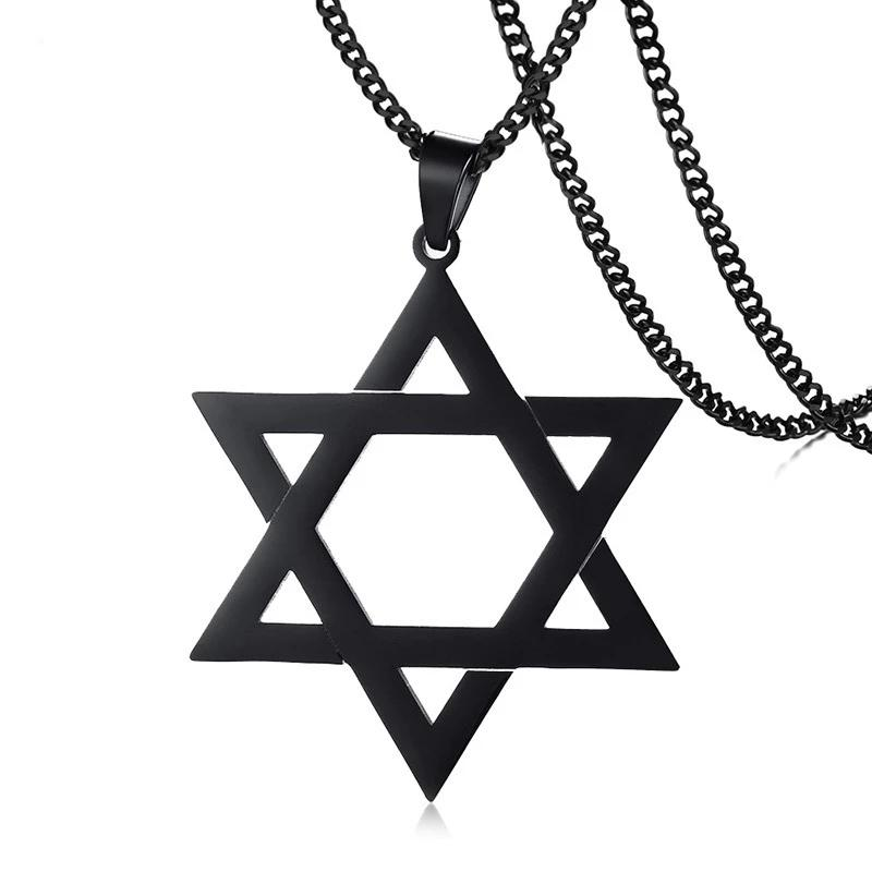 Star of David Pendant Stainless Steel Necklace-RnB.Style