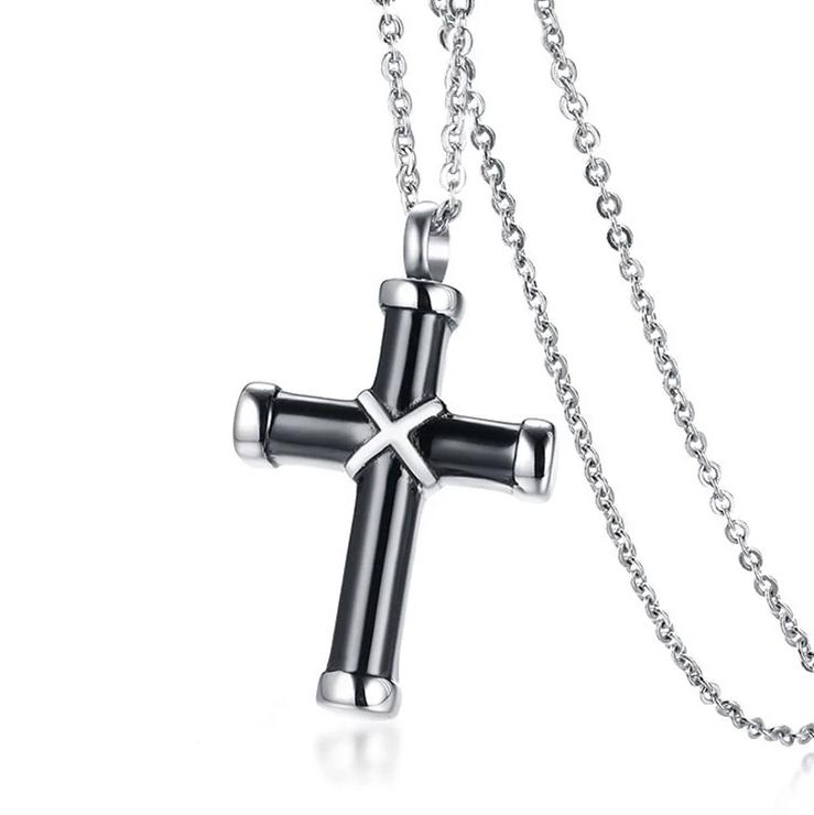 Stylish Cross Stainless Steel Pendant-RnB.Style