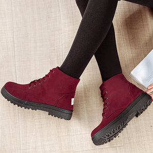 High Heels Flat Casual Cloth Shoes
