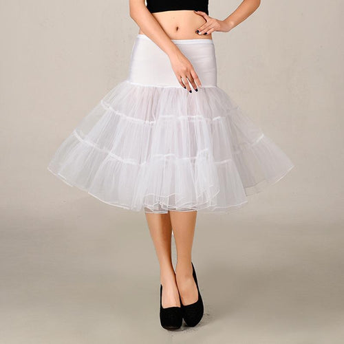 Lovely Net Yarn Big Swing Skirt