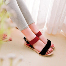 Load image into Gallery viewer, Sweet Casual Frosted Flat Sandals