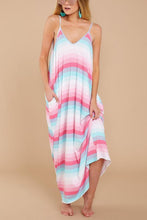 Load image into Gallery viewer, Sexy Pockets Sleeveless Beach Vacation Maxi Dress