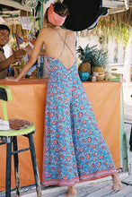 Load image into Gallery viewer, Sexy Bohemia Sleeveless Floral Print Jumpsuit