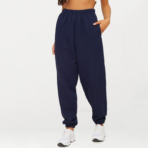 Fashion Loose Plain Sports Pants