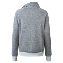 Load image into Gallery viewer, Fashion Plain Long Sleeve Top Sweatshirts