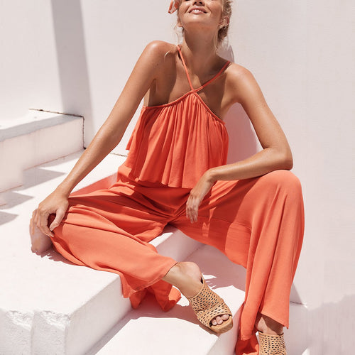 Sexy Elegant Vacation Jumpsuit