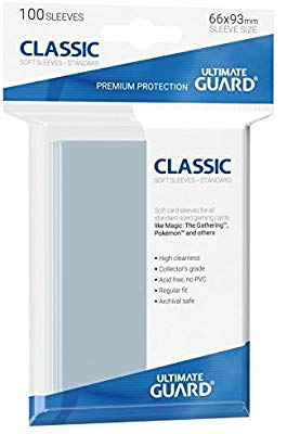 Ultimate Guard Classic Soft Sleeves (100)