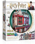 3D Puzzle: Harry Potter Quality Quidditch Supplies & Slug & Jiggers 305 PCS