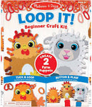 Loop It! Beginner Craft Kit - Farm Puppets