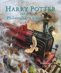 Harry Potter and the Philosopher's Stone Illustrated   (Large Hardcover)