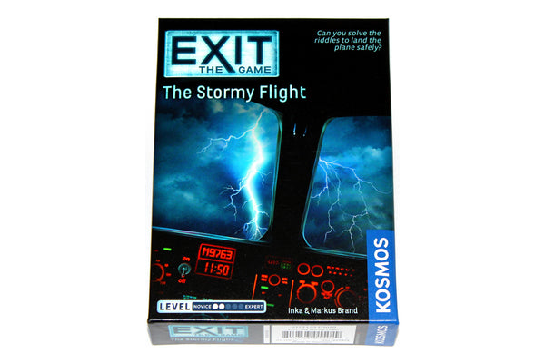 EXIT: The Stormy Flight (Escape Room Game)