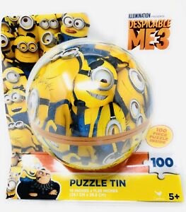 Despicable Me 3 Minion Puzzle in a Tin Ball - 100 pcs