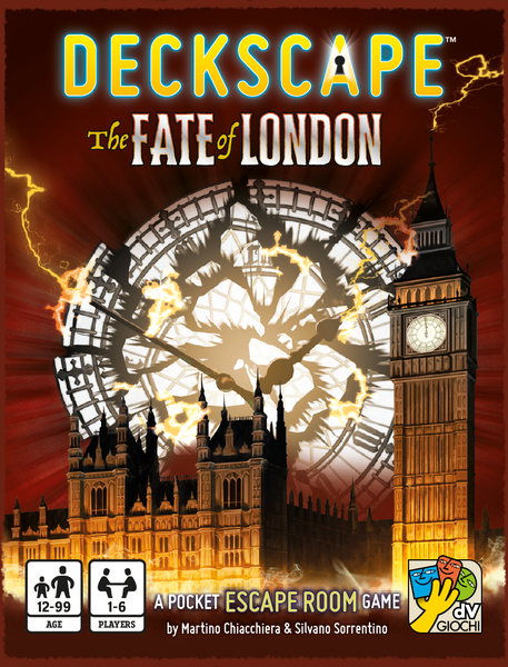 Deckscape: Fate of London (Escape Room Game)