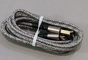 Braided 6ft USB to Micro USB cable