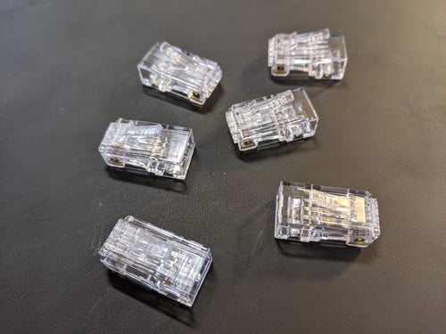 Pack of Six RJ45 Connectors