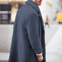 Load image into Gallery viewer, Fashion Mens Thicken Warm Wool Plain Outerwear