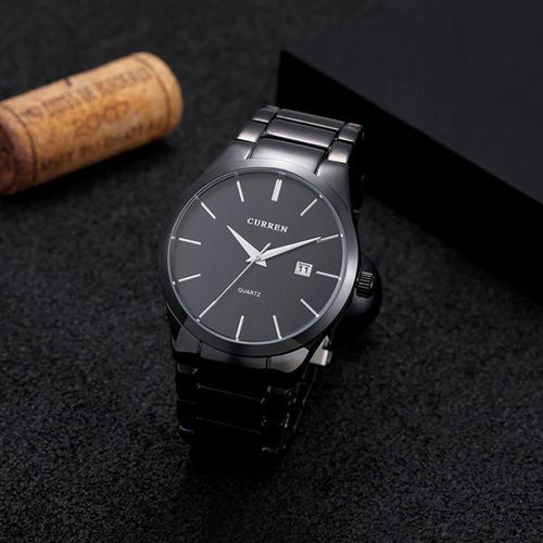 Casual Sports Wristwatch Display Date Men's Quartz Watch
